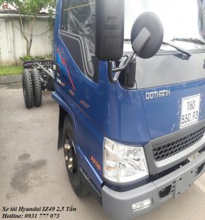Xe tải Hyundai IZ49 2,4 tấn, hoàn tất hồ sơ trong ngày, giao xe trong vòng 5 ngày