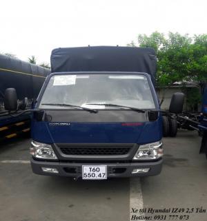 Xe tải Hyundai IZ49 2,5 tấn, hoàn tất hồ sơ trong ngày - Hotline: 0931 777 073 (24/24)