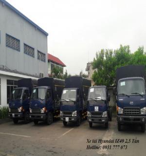 Xe tải Hyundai IZ49 2,5 tấn - Mua xe miễn phí trước bạ, lại còn được tặng xe máy