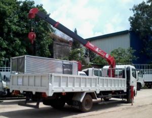 Xe tải cẩu Hino FC9JLSW, Cẩu Unic344 ( Tải...