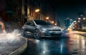 Scirocco GTS được Volkswagen ưu ái nâng cấp ngoại hình mạnh mẽ với những đường nét cứng cáp, khỏe khoắn