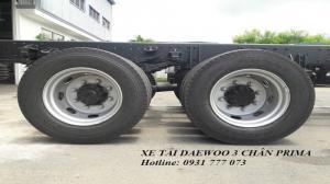 Xe tải Daewoo 3 chân 15 Tấn - Hỗ trợ vay trả góp lãi suất thấp - Hotline: 0931 777 073 (24/24)