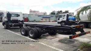 Xe tải Daewoo Prima 15 tấn, Xe tải Daewoo 3 chân - Hotline: 0931 777 073 (24/24)