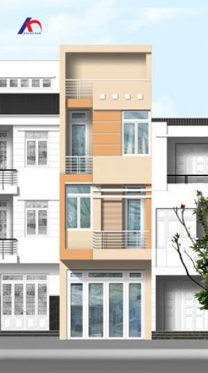 Cho thuê nhà MT Lê Hồng Phong, Q.10, (DT: 7x10m, trệt, 4 lầu). Giá: 65tr/th