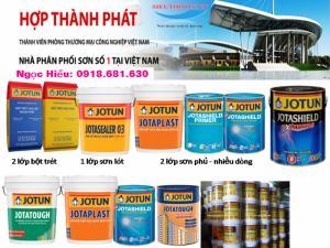 công ty bán sơn SƠN JOTUN SOLVALITT MIDTHERM tại Bình Thuận.