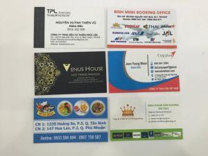 Đa dạng các mẫu thiết kế namecard được In Kỹ Thuật Số thực hiện cho khách hàng của mình