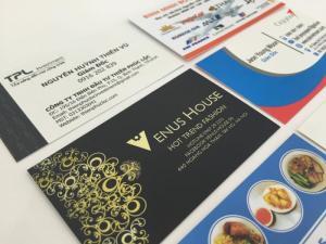 In card visit nhanh, giá rẻ, lấy ngay tại HCM