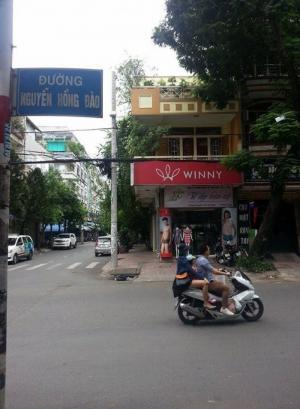 Cho thuê nhà góc 2 MT cực sầm uất 1 trệt 2 lầu Nguyễn Hồng Đào, Tân Bình