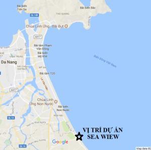 Dự án sát bờ biển Đà Nẵng