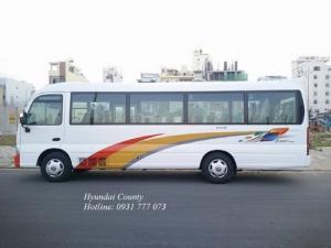 Xe khách 29 chỗ, xe Hyundai County 29 chỗ. Hyundai Đô Thành