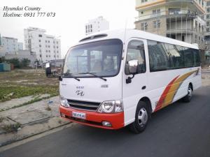 Xe khách 29 chỗ, xe Hyundai County 29 chỗ - Hỗ trợ trả góp lãi suất thấp - Hotline: 0931 777 073 (24/24)