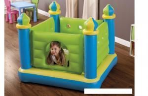 Nhà banh nhún lâu đài xanh cho bé INTEX - 48257