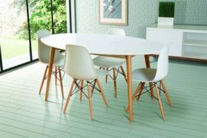 Ghế nhựa chân gỗ nhiều mẫu..
