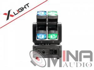 Đèn Led mini Moving Beam 8 Dual XLight...