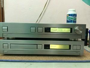 Compo ampli ONKYO R-200 & CD ONKYO C-200