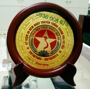 Xưởng sản xuất đĩa đồng lưu niệm,bán đĩa đồng biểu trưng, cung cấp đĩa quà tặng