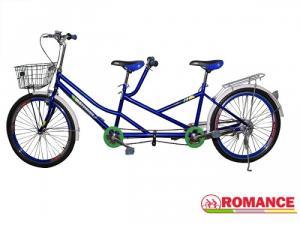 Xe đạp đôi màu xanh dương