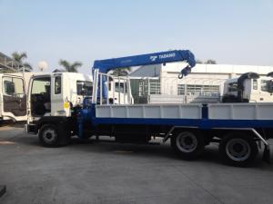 HD210 3 dò rút gắn cẩu tadano 5 tấn