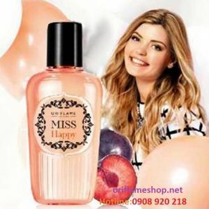 Nước hoa nữ Miss Happy Fragrance Mist