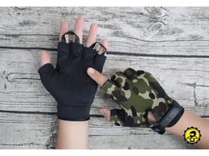 Găng tay 5.11 cụt ngón sử dụng chất liệu Cotton