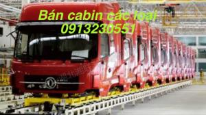 Bán cabin xe tải dongfeng, chenglong, c&c