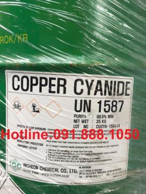 Bán-Copper-Cyanide-Korea, Bán Đồng-Xyanua- CuCN hàng chính nghạch.