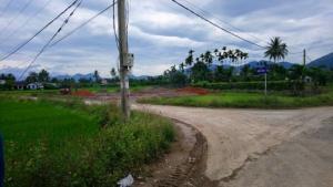 Bán đất giá f1 lần đầu đường Lầu Ông Huyện giao với đường đầu cầu 3tr9/m2