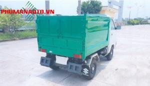 Xe Tải ben chở rác Mini Suzuki 500kg, xe chở...