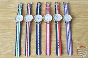 Đồng hồ Geneva dây vải