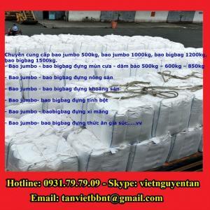 Bao Jumbo 1000kg, Bao Jumbo 2000kg, Bao Jumbo đựng gạo, bột mỳ