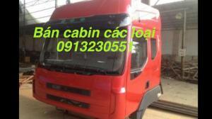 Bán cabin xe tải cheng long 4x8, 4x6