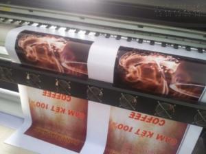In khổ lớn giá rẻ làm phông nền quảng cáo món ăn đặc sản cho quán ăn