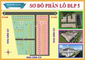 Bán nhà KDC Đại Lâm Phát 100m2 1 trệt 1 lầu SH riêng gần chợ Bình Chánh