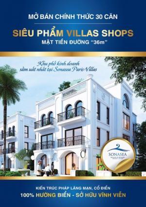 banner sonasea villas shop