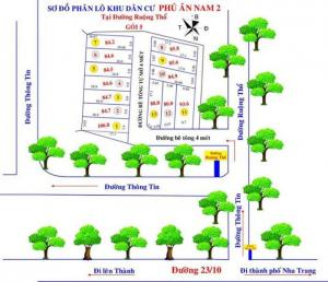 Bán đất đường thông tin 3tr5/m2, sổ hồng riêng từng nền