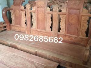 Bộ tần thủy hoàng tay 12 ( gỗ hương đá)