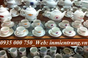 In bộ ấm trà Đà Nẵng, in ly cốc sứ Đà Nẵng - Xưởng gốm sứ Đà Nẵng