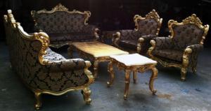 sofa gỗ cổ điển