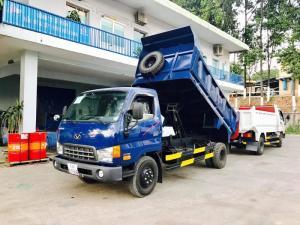 xe hyundai hd99 tự đổ tải trọng cao