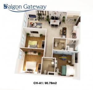 Căn Hộ Đẹp Saigon Gateway