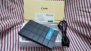 Hộp đựng ổ cứng 2.5inch SATA SSK SHE-080 - Chuẩn USB 3.0