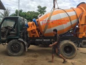 Bồn trộn bê tông 3 khối HYG3 nhập khẩu