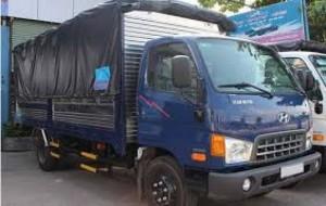 Xe tải HD800 thùng mui bạt