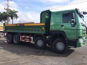 Xe tải ben 4 chân howo thùng 6,4 m đời 2017