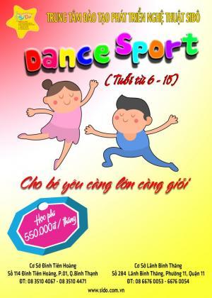 Chiêu Sinh Lớp Dance Sport (Khiêu Vũ) dành...