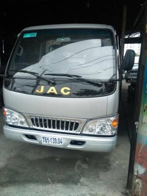 Xe tải Jac 2t4 thùng 3m, chở trái cây, chở hàng qá tải, trả góp 95%