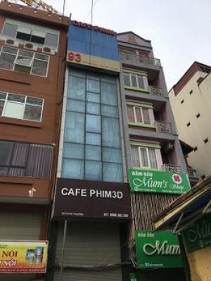 Bán nhà mặt phố Hoàng Quốc Vệt Cầu Giấy, sổ đỏ 50m2 3 tầng mt 4,5m 18,5 tỷ
