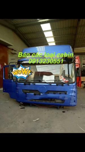 Cần bán cabin howo đầu kéo và ben zz-4,zz-3, thaco ollin 700-900A