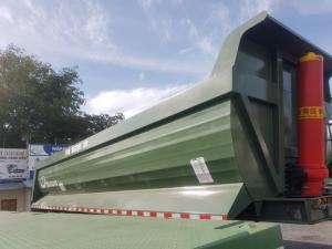 Ben tải tự đỗ nhập khẩu từ Hàn Quốc, 24 khối...