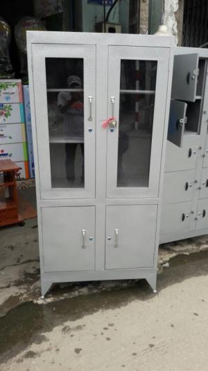 Tủ sắt văn phòng giá rẻ đựng hồ sơ 4 cửa giao hàng miễn phí Hồ Chí Minh